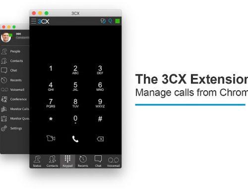 3CX vanuit browser bellen en gebeld worden, zonder webclient te openen