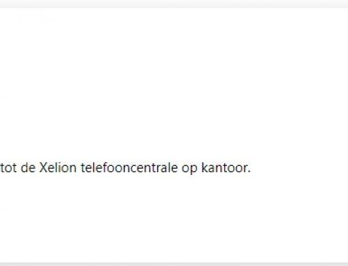 XELION WINDOWS APP, ZO GEMAKKELIJK!